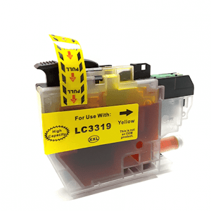 Compatible Brother LC-3319XL Yellow ink cartridge - 1,500 pages