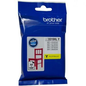 Genuine Brother LC-3319XL Yellow ink cartridge - 1500 pages