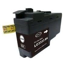 Compatible Brother LC-3333 Black ink cartridge - 3,000 pages