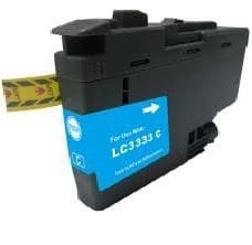 Compatible Brother LC-3333 Cyan ink cartridge - 1,500 pages