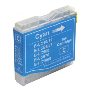 Compatible Brother LC-37/LC-57 Cyan ink cartridge - 450 pages