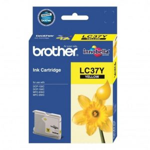 Genuine Brother LC-37 Yellow ink cartridge - 300 pages