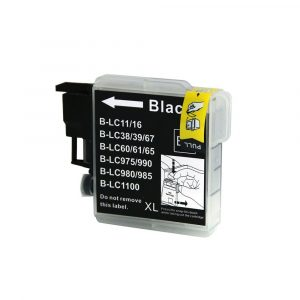 Compatible Brother LC-38/LC-67 Black ink cartridge - 1100 pages