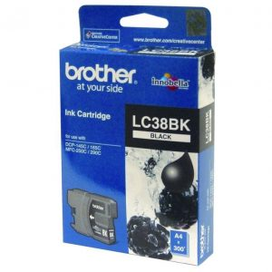 Genuine Brother LC-38 Black ink cartridge - 300 pages
