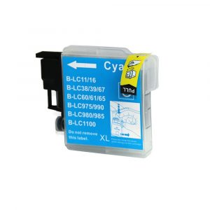 Compatible Brother LC-38/LC-67 Cyan ink cartridge - 1200 pages