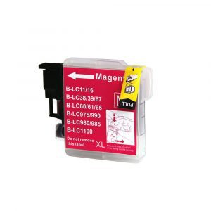 Compatible Brother LC-38/LC-67 Magenta ink cartridge - 1200 pages