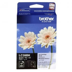 Genuine Brother LC-39 Black ink cartridge - 300 pages