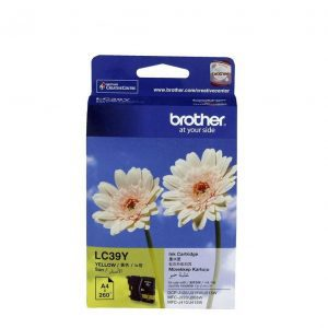 Genuine Brother LC-39 Yellow ink cartridge - 260 pages