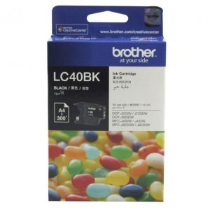 Genuine Brother LC-40 Black ink cartridge - 300 pages