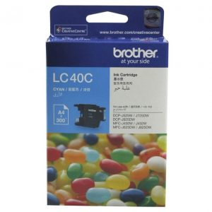 Genuine Brother LC-40 Cyan ink cartridge - 300 pages