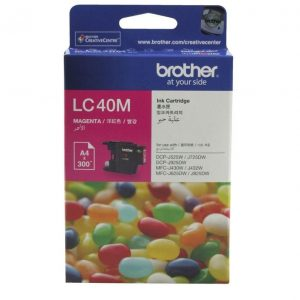Genuine Brother LC-40 Magenta ink cartridge - 300 pages