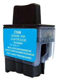 Compatible Brother LC-47 Cyan ink cartridge - 520 pages