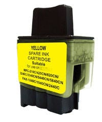 Compatible Brother LC-47 Yellow ink cartridge - 520 pages