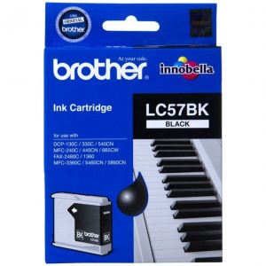 Genuine Brother LC-57 Black ink cartridge - 500 pages