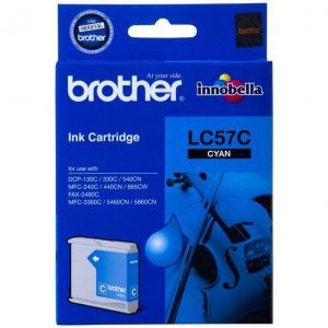 Genuine Brother LC-57 Cyan ink cartridge - 400 pages