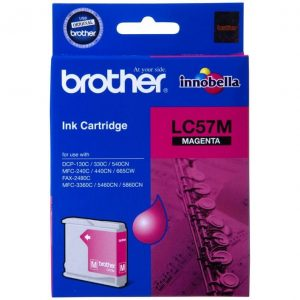 Genuine Brother LC-57 Magenta ink cartridge - 400 pages