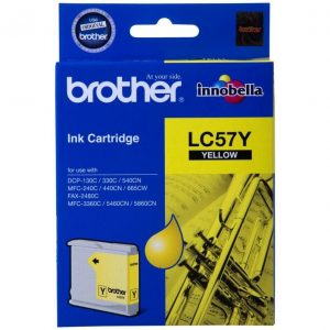 Genuine Brother LC-57 Yellow ink cartridge - 400 pages