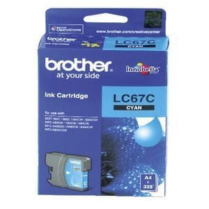 Genuine Brother LC-67 Cyan ink cartridge - 325 pages