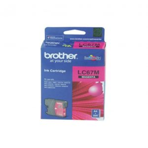 Genuine Brother LC-67 Magenta ink cartridge - 325 pages