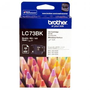 Genuine Brother LC-73 Black ink cartridge - 600 pages