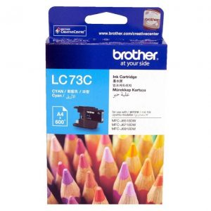 Genuine Brother LC-73 Cyan ink cartridge - 600 pages