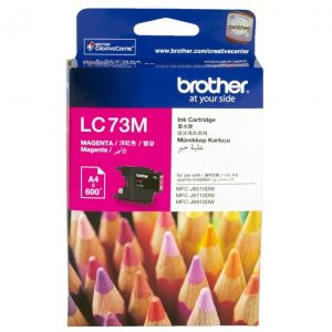 Genuine Brother LC-73 Magenta ink cartridge - 600 pages
