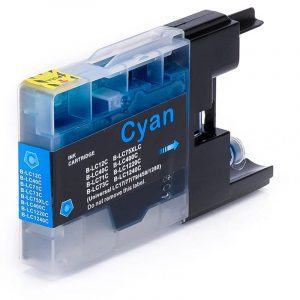 Compatible Brother LC-77 Cyan Super High Yield ink cartridge - 1,200 pages