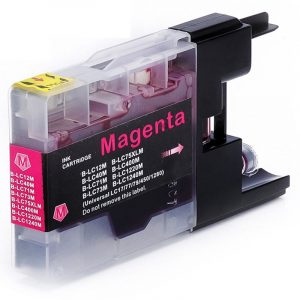 Compatible Brother LC-77 Magenta Super High Yield ink cartridge - 1,200 pages