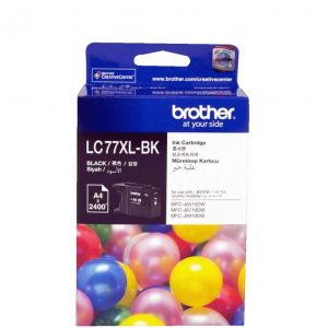 Genuine Brother LC-77XL Black ink cartridge - 2400 pages