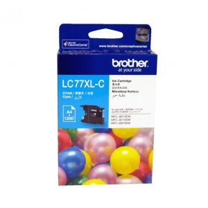 Genuine Brother LC-77XL Cyan ink cartridge - 1200 pages