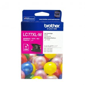 Genuine Brother LC-77XL Magenta ink cartridge - 1200 pages