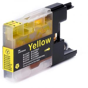Compatible Brother LC-77 Yellow Super High Yield ink cartridge - 1,200 pages