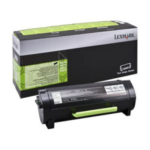 Genuine Lexmark 60F3H00 (603H) Black High Yield toner cartridge - 10,000 pages