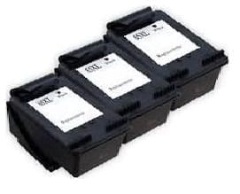 Compatible HP 65XL (N9K043AA) 3 Pack Black High Yield ink cartridge -