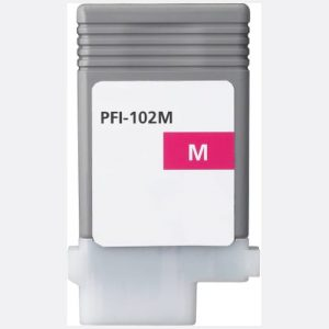 Compatible Canon PFI-102 Magenta wide format ink - 1,500 pages