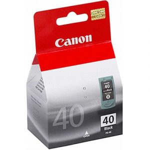 Genuine Canon PG-40 FINE Black ink cartridge - 330 pages