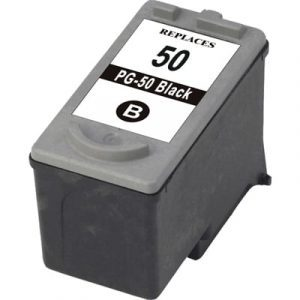 Compatible Canon PG-50 Black ink cartridge - 510 pages
