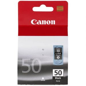 Genuine Canon PG-50 FINE Black High Yield ink cartridge - 510 pages