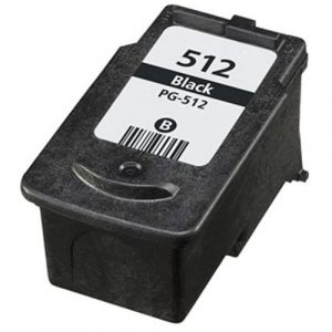 Compatible Canon PG-512 Black ink cartridge - 400 pages