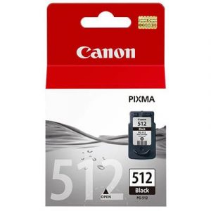 Genuine Canon PG-512 Black ink cartridge High Yield - 400 pages