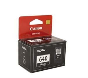Genuine Canon PG-640 Black Standard Yield ink cartridge - 180 pages