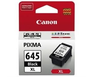 Genuine Canon PG-645XL Black High Yield ink cartridge - 400 pages