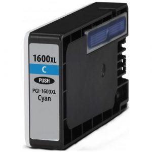 Compatible Canon PGI-1600XL Cyan ink cartridge - 900 pages