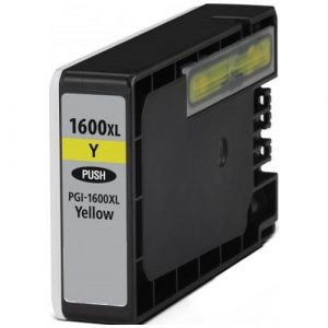 Compatible Canon PGI-1600XL Yellow ink cartridge - 900 pages