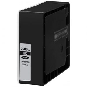 Compatible Canon PGI-2600XL Black ink cartridge - 2,500 pages