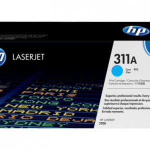 Genuine HP 311A (Q2681A) Cyan toner cartridge - 6,000 pages