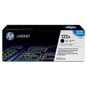 Genuine HP 122A (Q3960A) Black toner cartridge - 5,000 pages