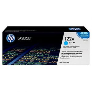 Genuine HP 122A (Q3961A) Cyan High Yield toner cartridge - 4,000 pages
