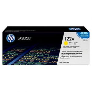 Genuine HP 122A (Q3962A) Yellow High Yield toner cartridge - 4,000 pages