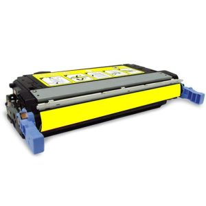 Compatible HP 643A (Q5952A) Yellow toner cartridge - 10,000 pages